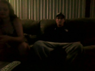 Hubby watches wife give smoking blowjob to online stud with a big dick
