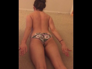 Nude yoga young amateur wife