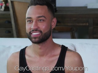 GayCastings – Newcomer Carson Cruise gets tight ass fucked by agent