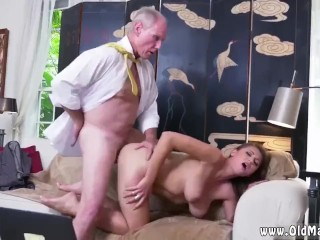 Old fisting and granny Ivy impresses with her massive tits and ass