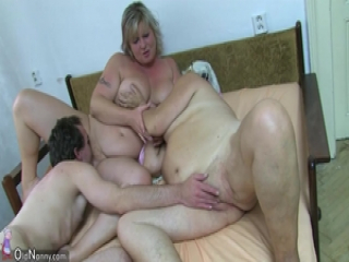 OldNanny Fat bbw granny have sex with chubby Mature