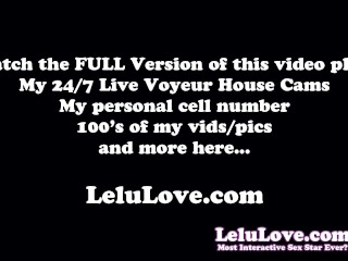 Get up close & personal w/ Lelu Love in face only eye contact edging masturbation intimate session
