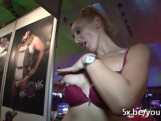 Daniella anal fucked in an Adult Festival