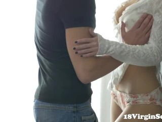 Sensual and romantic sex is what 18 year old Polina