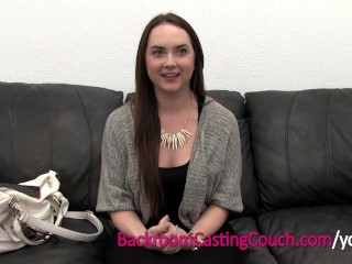 18 Amateur Teen Ambush Insemination on Casting Couch