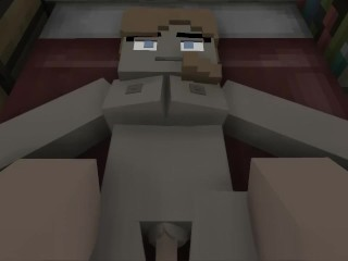 Minecraft: Alex Getting Her Pussy Filled With Cum