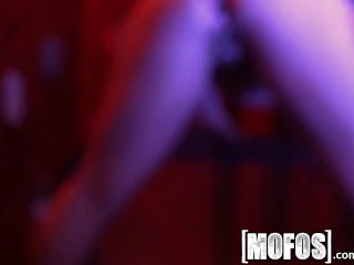 Mofos – Hot teen orgy after hours at the bar