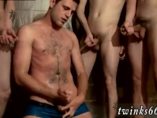 Big cock daddy makes gay twink scream The spunk shortly starts to fly