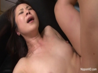 Asian MILF fucked hard while her friend tapes it