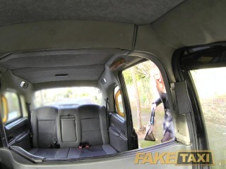FakeTaxi Lucky cabby gets big natural tits