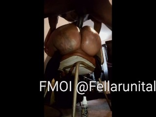 Showing Off My Girls Fat Ass While Drilling Her Pretty Pussy