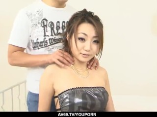 Wild group experience with amazing woman Yuu Shiraishi