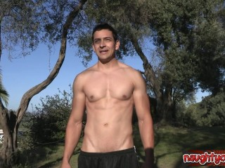 Sexy guys awesome blowjob
