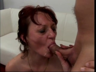 Too much cock for one cougar – Asses Up