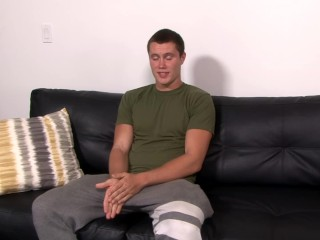 ActiveDuty Beefy Young Str8 Soldier Plays with His Meat!