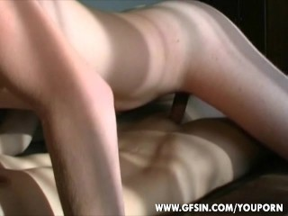 Amateur Dutch couple first time in front of a cam