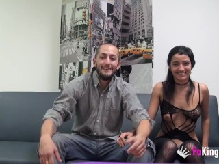 Spanish party couple fucks for fakings cameras