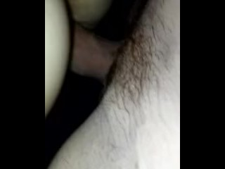 She takes my long cock!