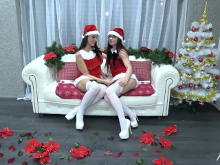 Povbitch – Christmas special with awesome & best super sexbombs Mea & Wendy