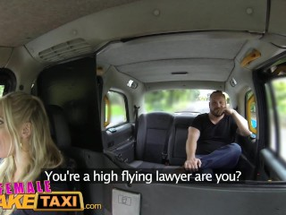 FemaleFakeTaxi Hot milf cabbie fucks lawyer cock on spycam for free advice