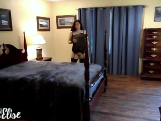 POV Spy Roleplay Blowjob, Girl on Top Dick Riding, and Fucking From Behind