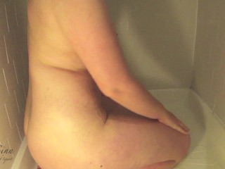 Anal Squirt in Shower