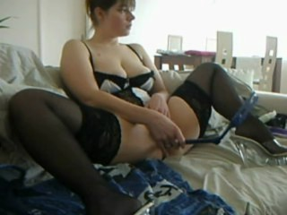 wife with object