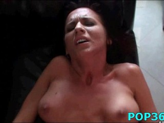 Teen fucked and creamed