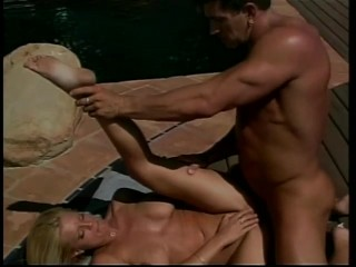 Blonde Babe Fucked on the Patio – Future Works