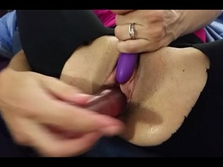 Toying, Hard Fuck & Finger Fucking Wife till She Squirts – HIS POV
