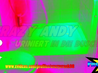 Andy pisst (Crazy Colour Video)