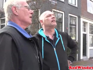 Mature amsterdam prostitute gets doggystyled