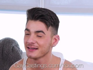 GayCastings – Eager Porn Agent Fucks Tony Holiday