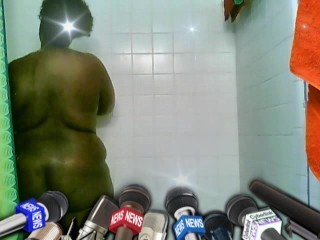 having fun with self in shower
