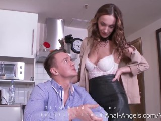 Anal-Angels.com – Hazel Dew – Teacher grabs student's dick