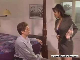 Asian chick with big boobs gets shagged