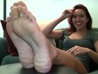 Alexis Candid Stinky Soles Part 8