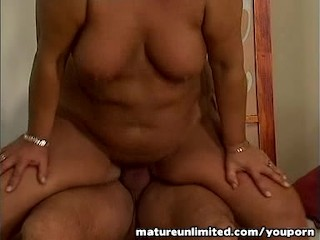 Mom is fucking pounded on the top….