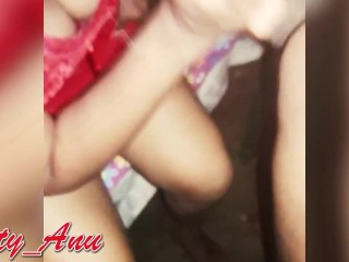 Desi Indian Bhabhi threesome with hubby and his friend.