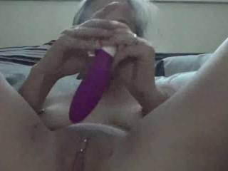 Horny Wife Squirts WhIle Masturbating