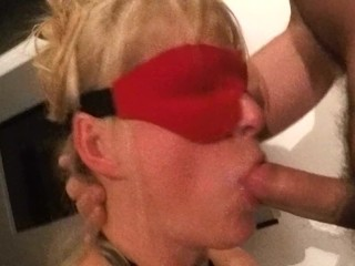 Bound Blindfolded Milf Cum Shot.mp4