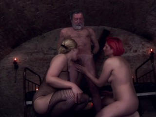 Vicky Wilfing Milf and threesome in Vienna