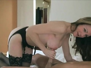 Busty Milf Cuckolds Husband With Online Lover