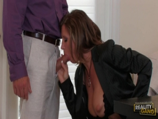 Devon Lee gives some motherly attention to this guy's thick cock