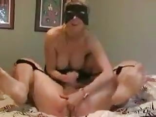 Wife makes husband cum and fingering his prostate
