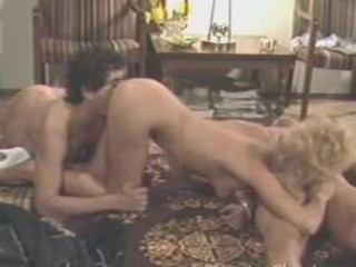 Peter North double classic blowjob
