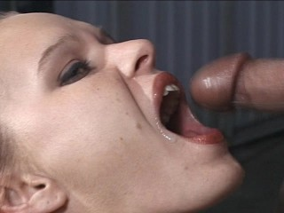 Skinny babe rides a huge dick – OPD Production
