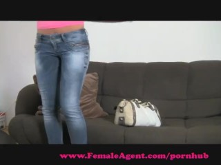 FemaleAgent. Gorgeous and naive
