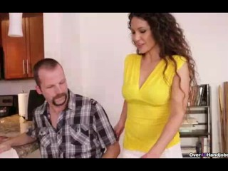 Milf Is Here To Treat His Cock-tension Better