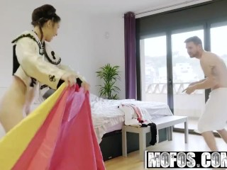 Mofos – Bullfighter Fucks Brazilian Fan starring Angie White
